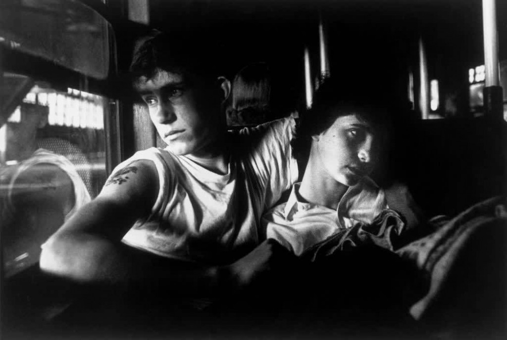 بروس دیویدسن. گنگ بروکلین، (زوج درون قطار)، 1959