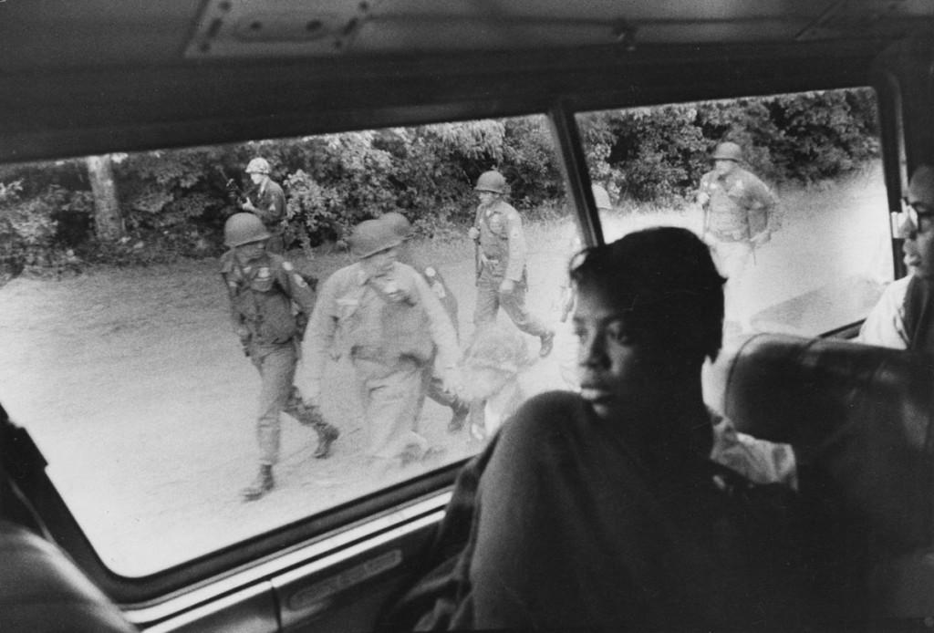 بروس دیویدسن. از مجموعهی «زمان تغییر» (رانندگان آزادی)، آمریکا، 1961