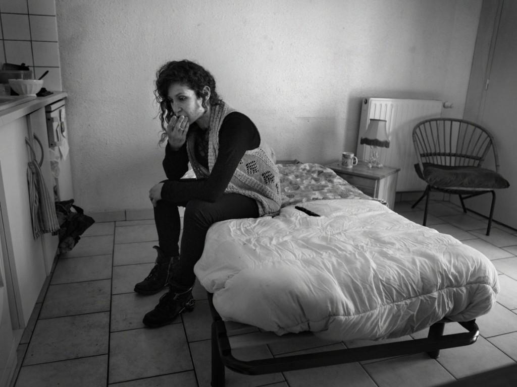 Axelle de Russé. مگالی بیخانمان است و در هاستل تحت قوانین سخت زندگی میکند. وردان، فوریه 2020