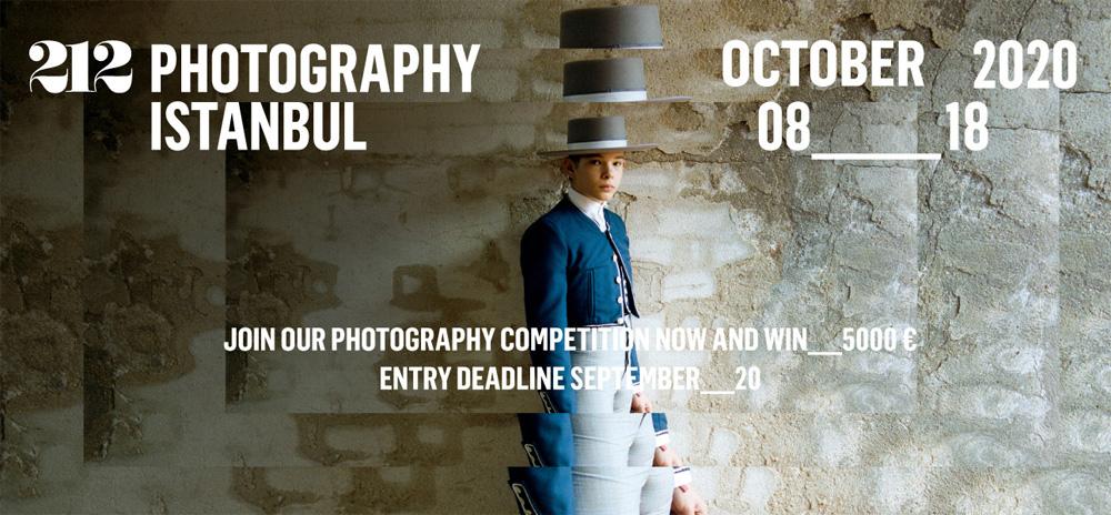 فراخوان مسابقه عکاسی استانبول ۲۱۲ – ۲۰۲۰