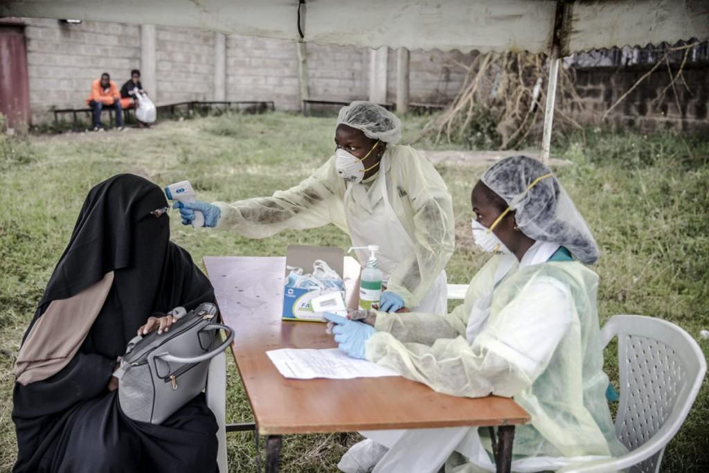 Luis Tato از AFP. بیمارستان Mbagathi، نایروبی، کنیا، 18 مارس 2020
