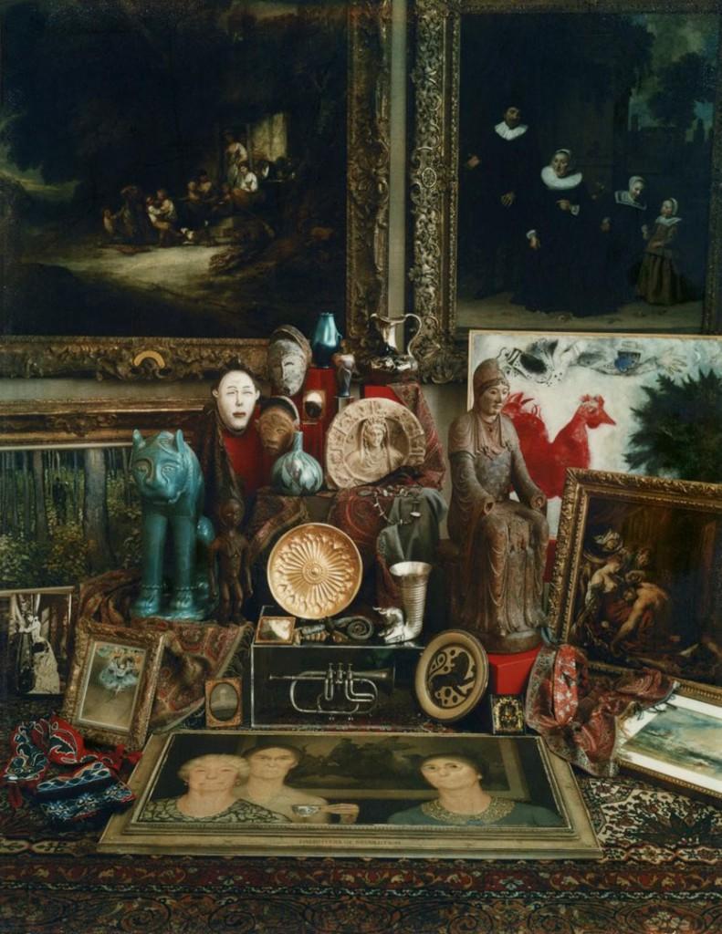 مری کسینداس. استیل لایف صد سالهی موزه هنر سینسیناتی، 1980