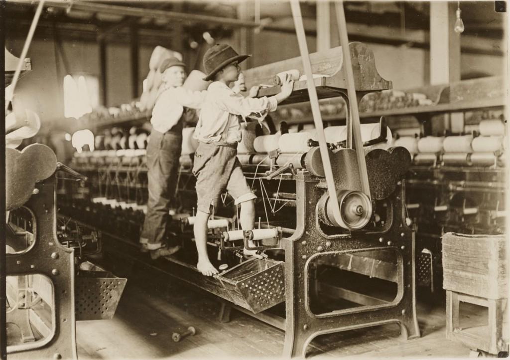 لوئیس هاین. کارگران، مِیکِن، جرجیا، ژانویه 1909