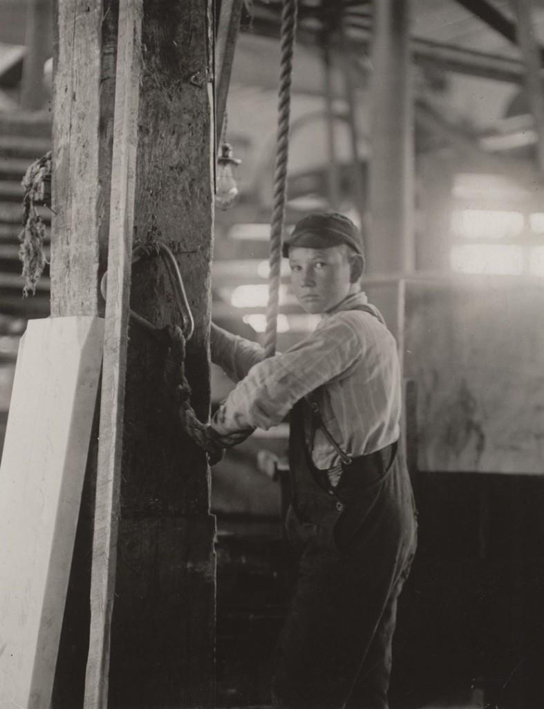 لوئیس هاین. نیوانگلد، 1910