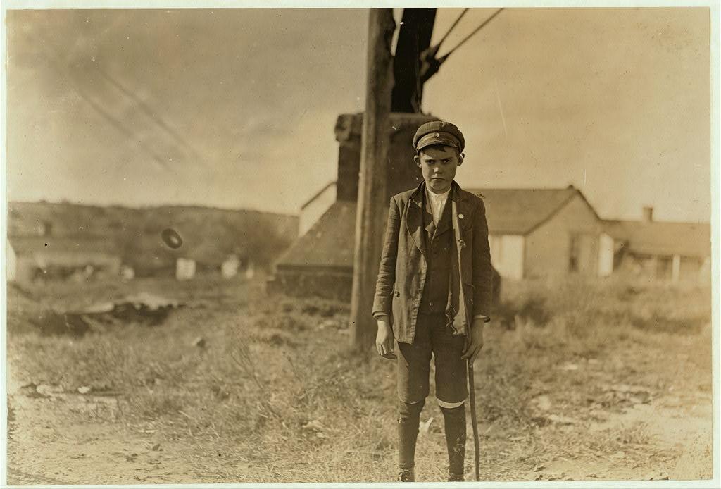 لوئیس هاین. لنکستر، کرلینای جنوبی، نوامبر 1908