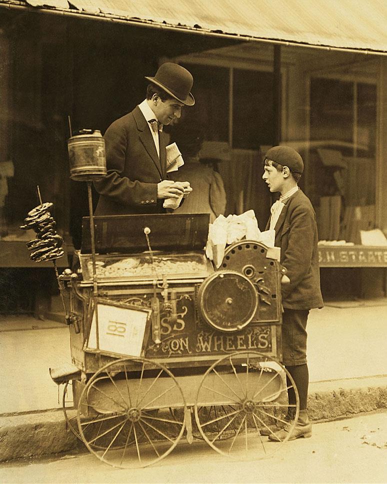 لوئیس هاین. پینات وِندر یازده ساله، دالاوِر، 6 آگوست 1911