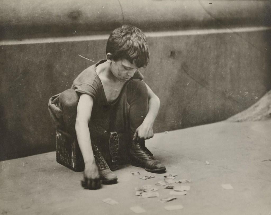 لوئیس هاین. واکسی دورهگرد، 1912