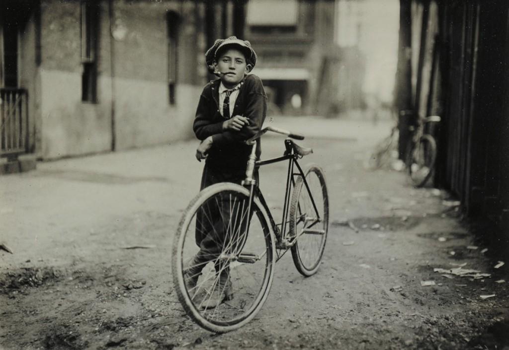 لوئیس هاین. پسر نامهبر، وِیکو، تگزاس، سپتامبر 1913