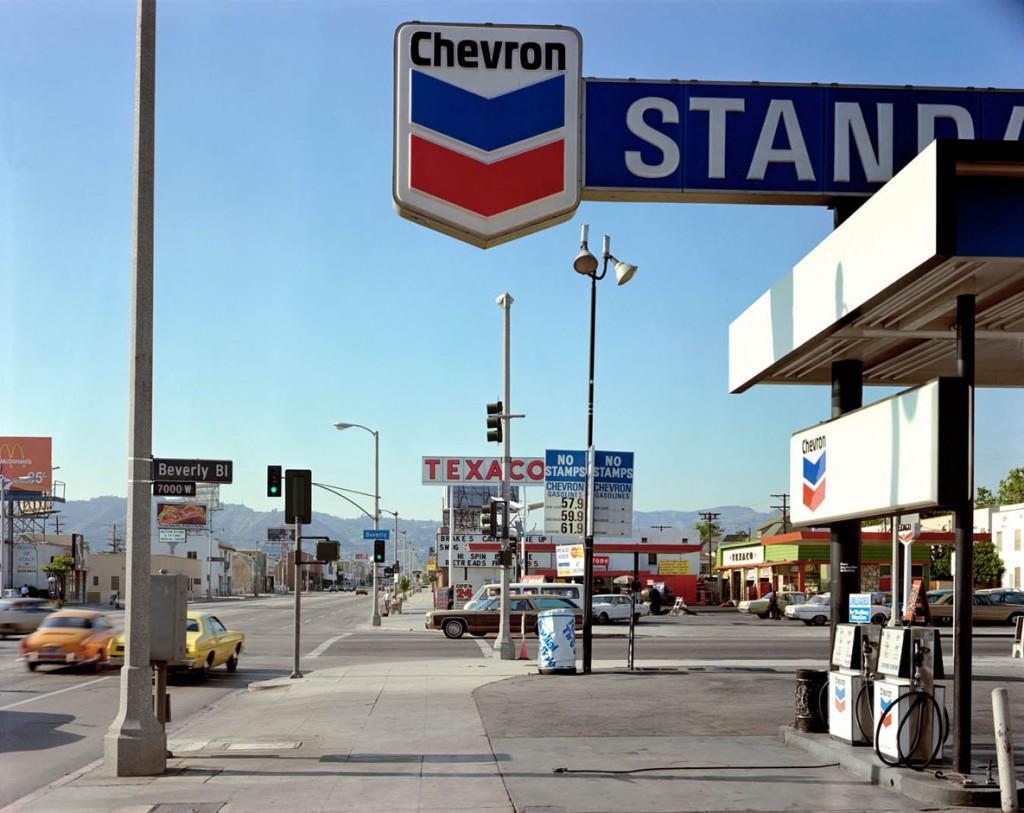 استیون شر. بلوار بِوِرلی و خیابان لابریا، لسآنجلس، کلیفرنیا، 21 ژوئن 1975