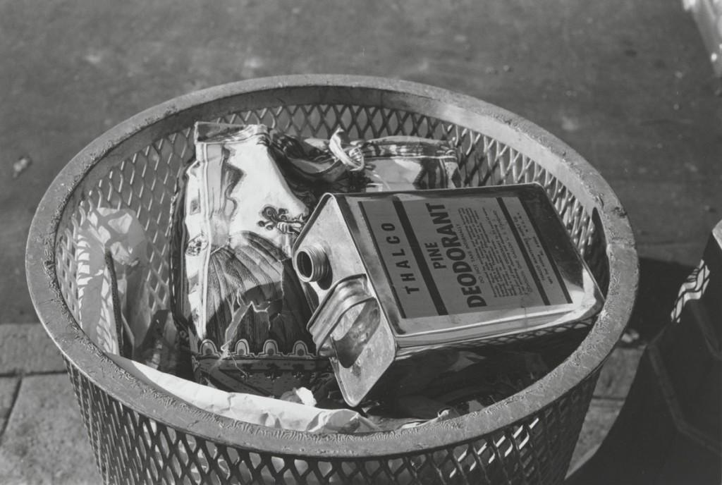 واکر اونز. سطل زباله، نیویورک، حوالی 1968