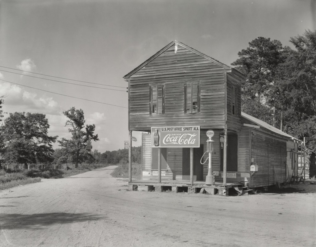 واکر اوانز. اداره پست، اسپرات، الاباما، 1936