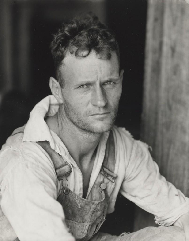 واکر اوانز. مستأجر زمین زراعی، هِیل کانتی، الاباما، 1936