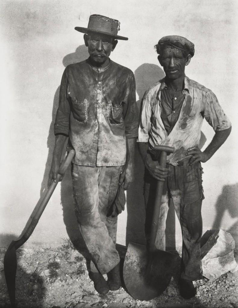 واکر اونز. کارگران لنگرگاه، هاوانا، کوبا، 1932