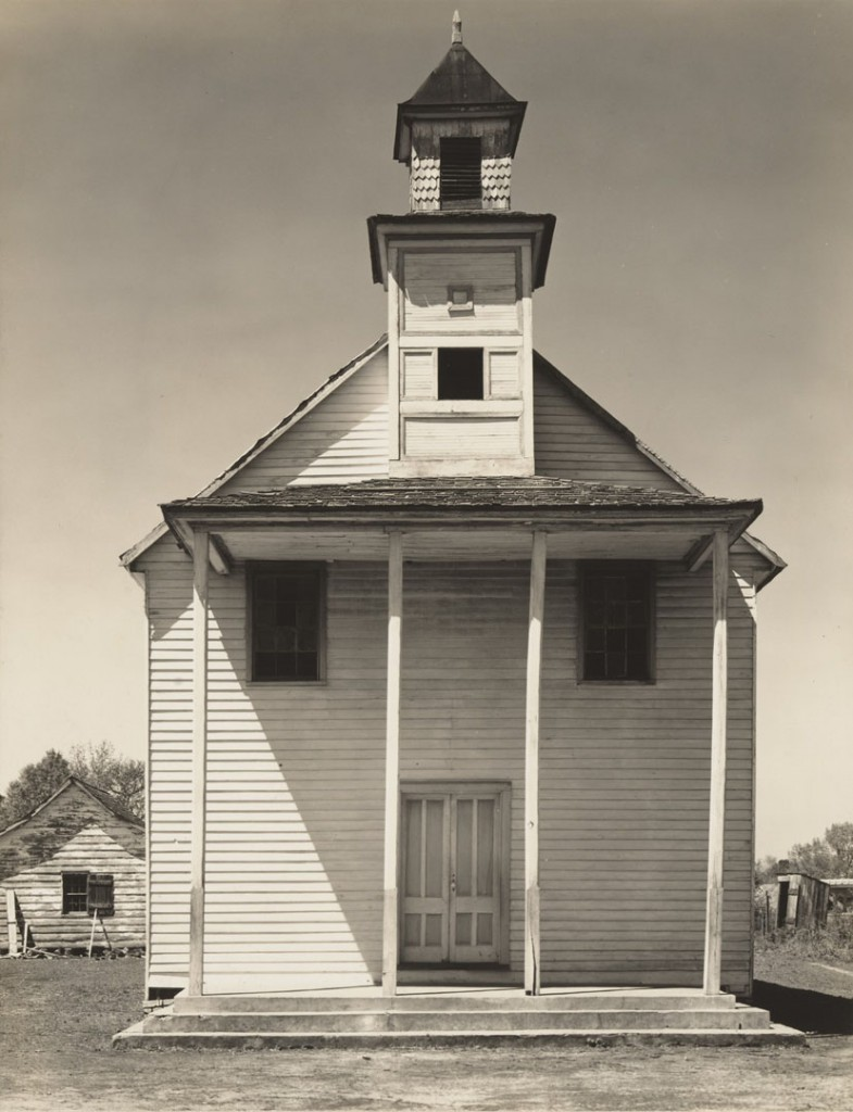 واکر اونز. کلیسای سیاهپوستان، کرلینای جنوبی، 1936