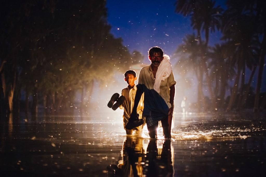 Daniel Berehulak. سیل پاکستان. از برندگان بخش تکعکس Wellcome Photography Prize 2019