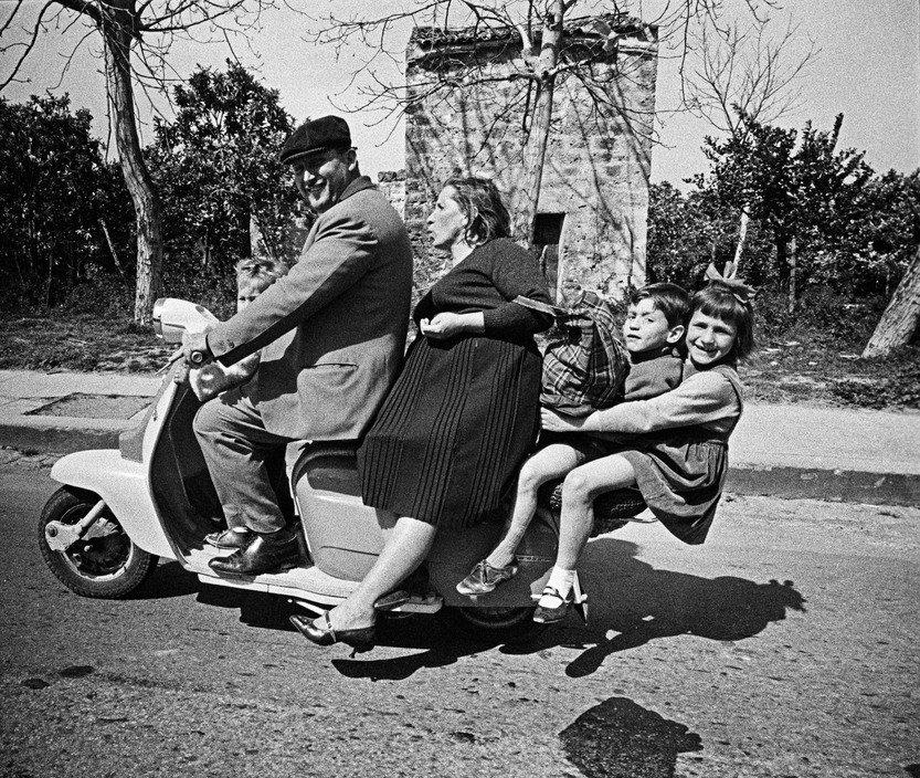 برونو باربی. پالرمو، سیسیل، ایتالیا، 1963