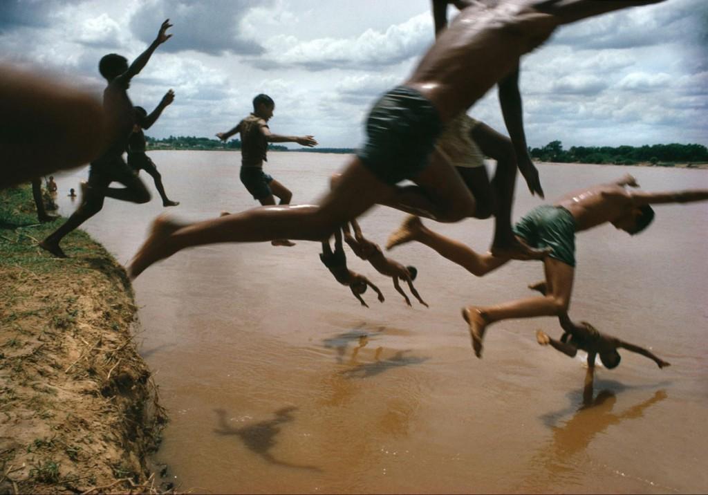 برونو باربی. رودخانه آمازون، برزیل، 1966