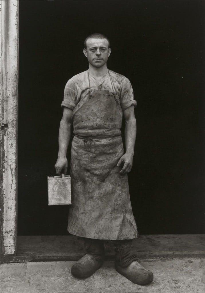 آگوست زاندر. جلاکار، حوالی 1930