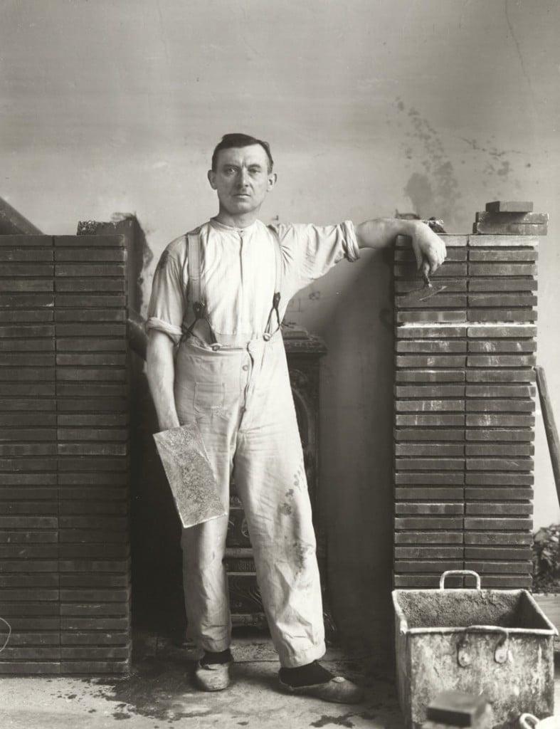 آگوست زاندر. استاد بنا، 1926