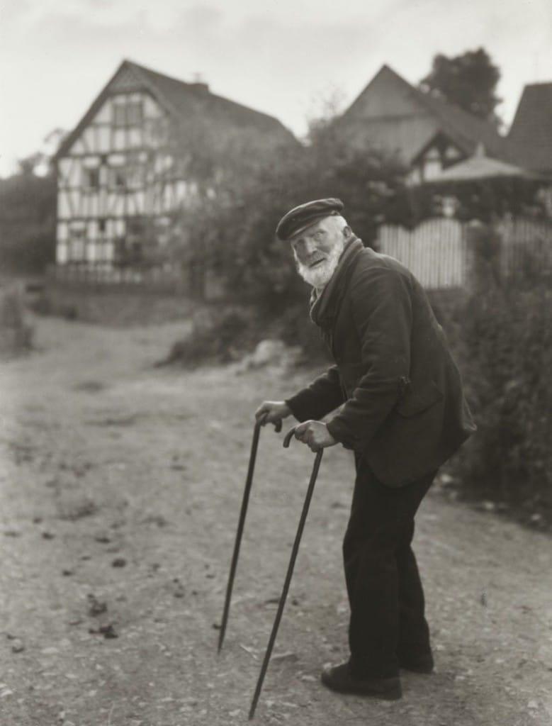 آگوست زاندر. کشاورز سالخورده، 1931 – 1932