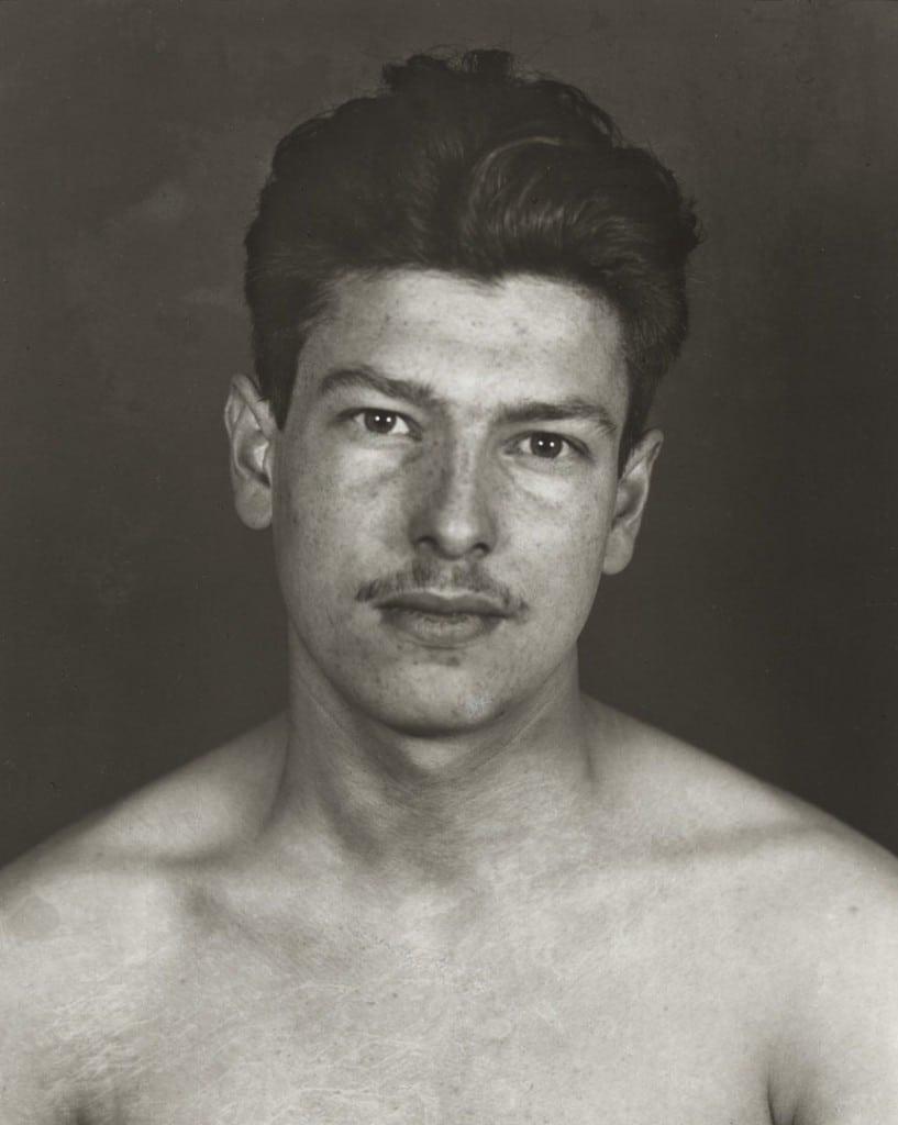 آگوست زاندر. زندانی سیاسی، 1943