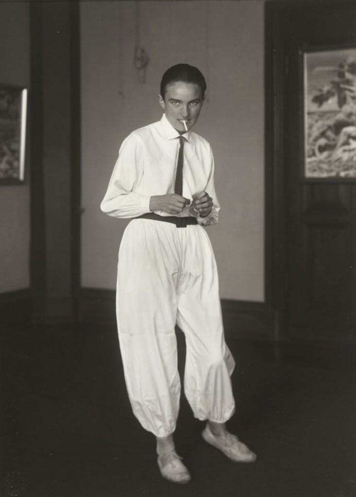 آگوست زاندر. همسر نقاش [Helene Abelen]، حوالی 1926