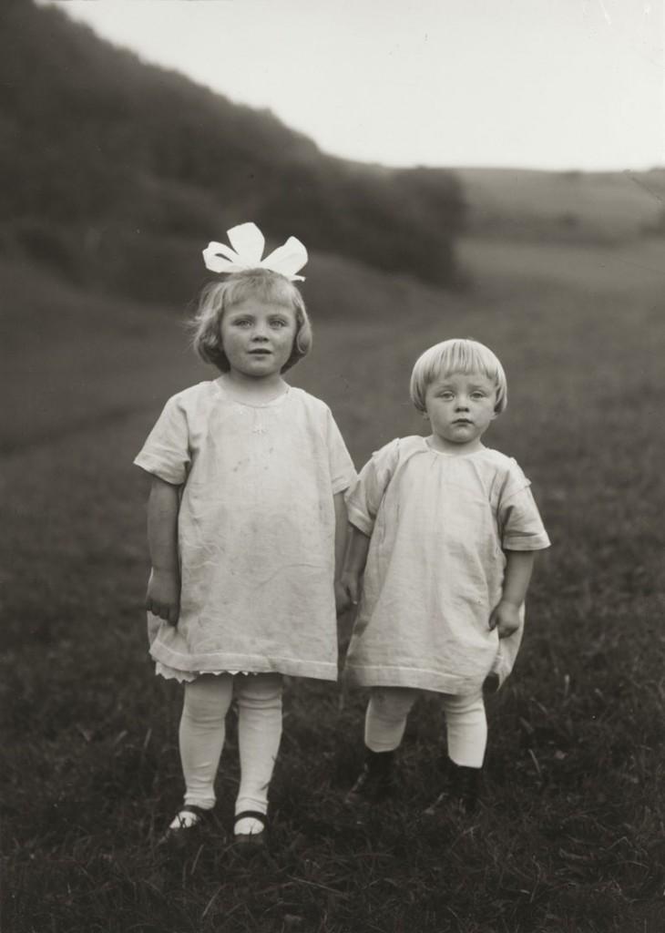 آگوست زاندر. کودکان مزرعه، حوالی 1928