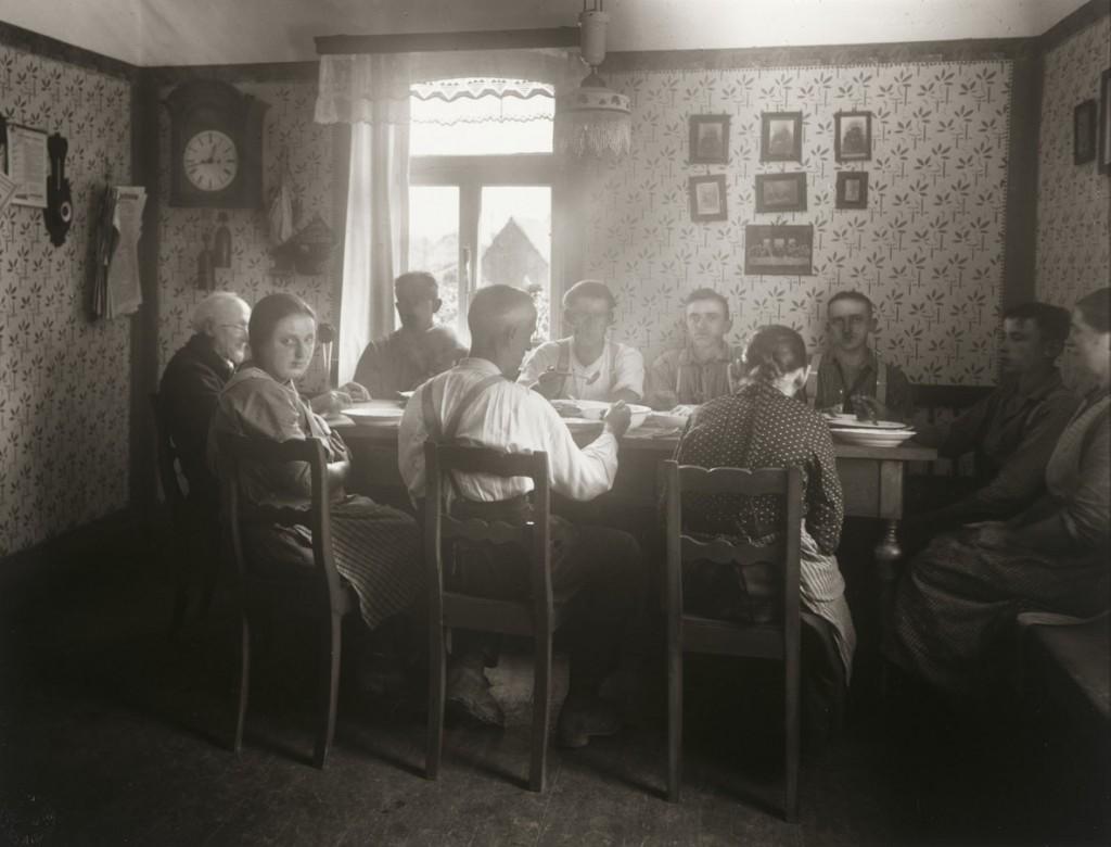 آگوست زاندر. ناهار، 1925 – 1927
