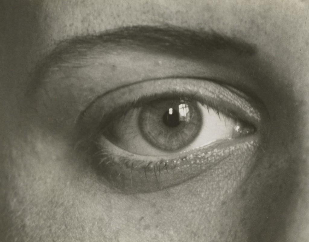آگوست زاندر. چشم راست دخترم Sigrid، 1928