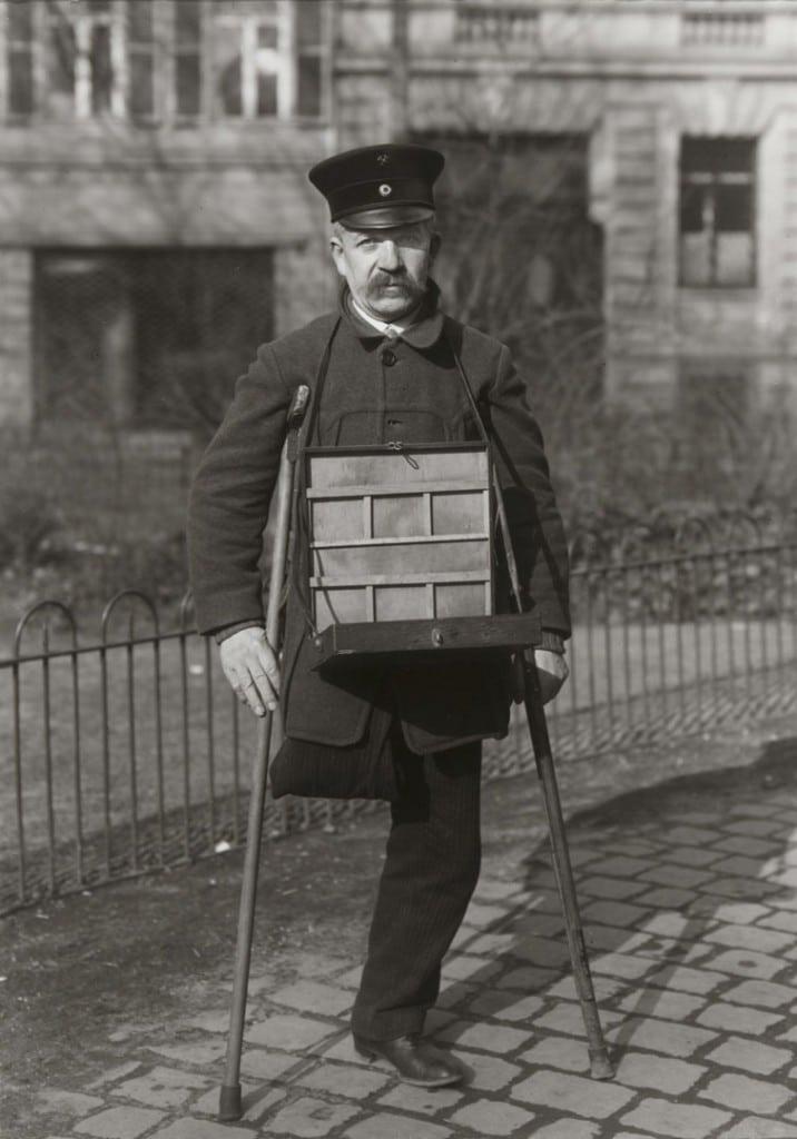 آگوست زاندر. معدنچی معلول، 1927 – 1928