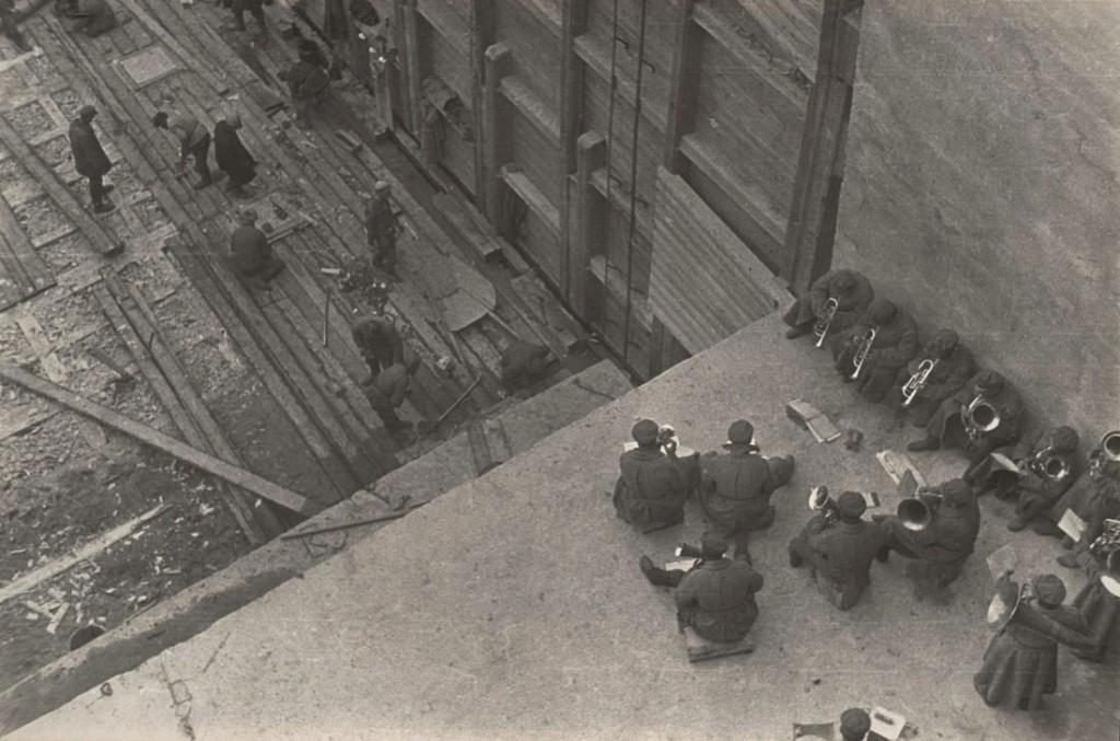 الکساندر رودچنکو. کار با ارکستر، 1933