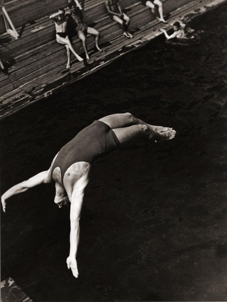 الکساندر رودچنکو. شیرجهزن، 1934