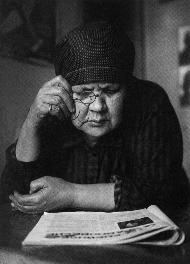 الکساندر رودچنکو. مادر، 1924