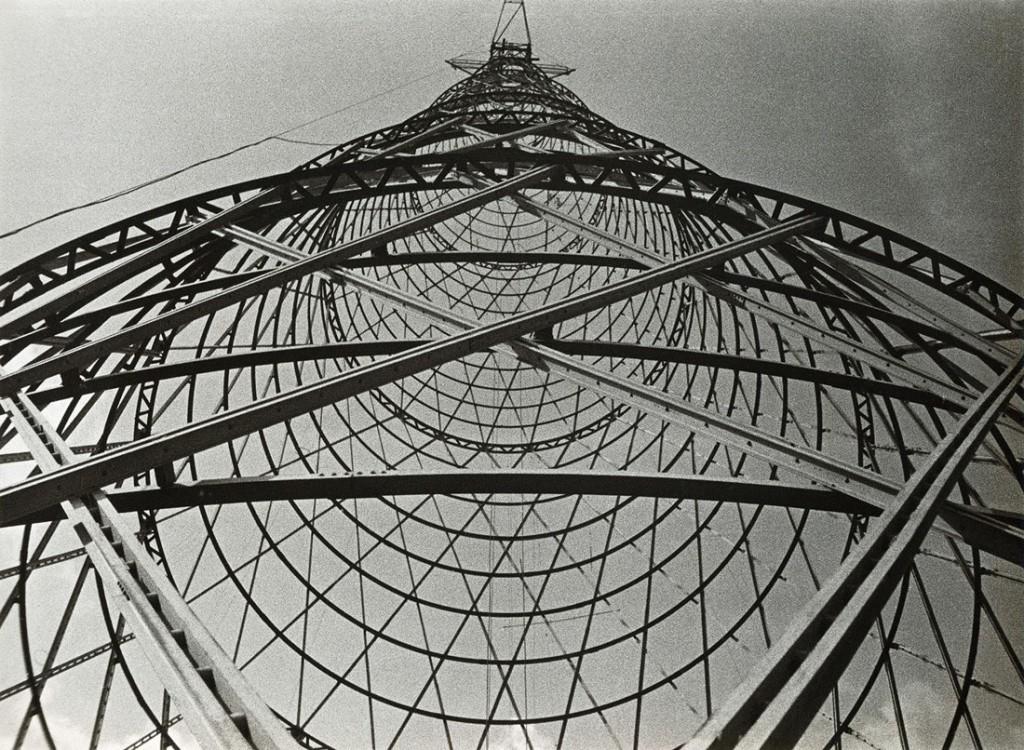 الکساندر رودچنکو. برج رادیویی شوخوف، مسکو، 1929