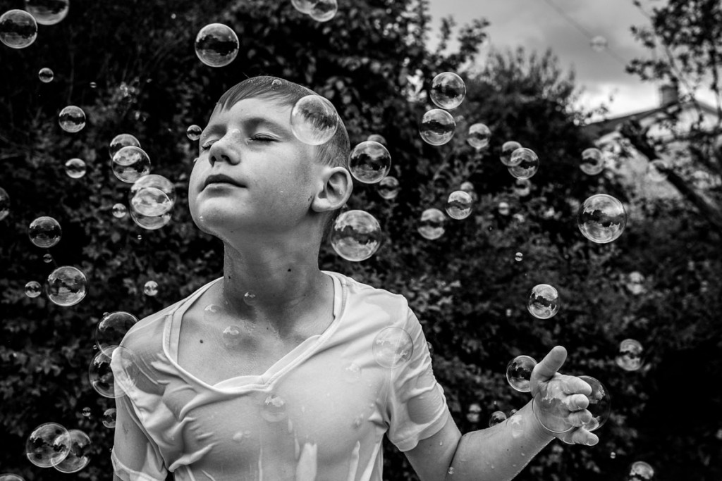 Barbara Puchta. «حمام حباب». از فینالیستهای مسابقه عکاسی سیاه و سفید لنزکالچر 2020