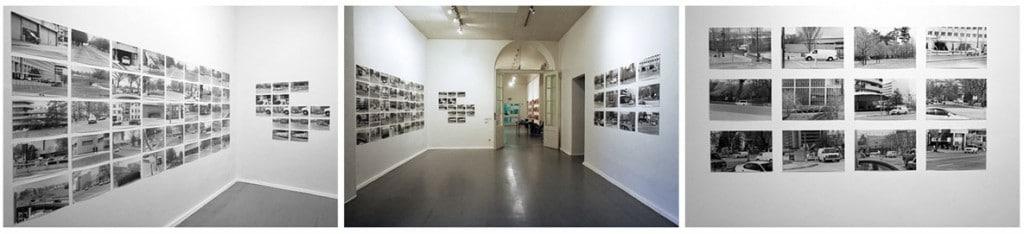 چند عکس از نحوهی ارائهی عکسهای مجموعهی «کد نارنجی» بتینا لاکمن