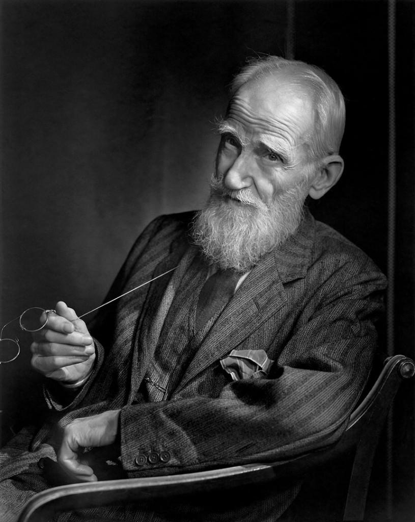 یوسف کارش. جرج برنارد شاو (نمایشنامه نویس)، 1943