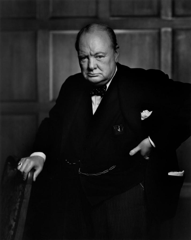 یوسف کارش. وینستن چرچیل (سیاستمدار)، 1941