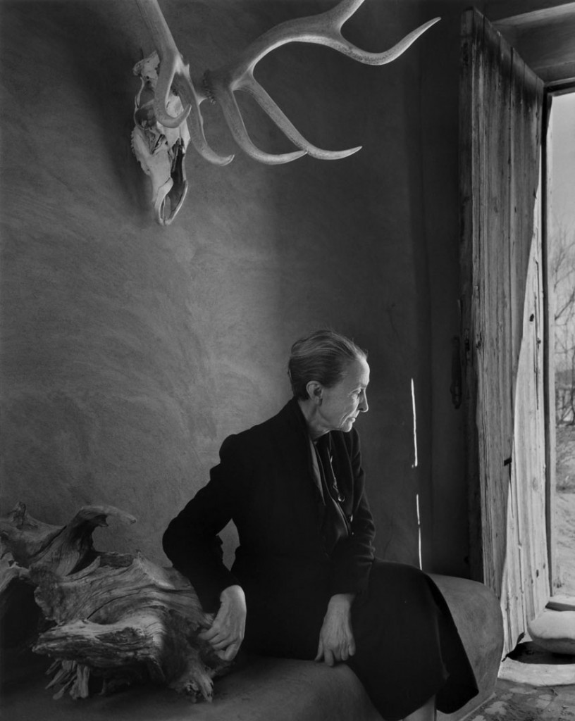 یوسف کارش. جریا اوکیف (نقاش)، 1956