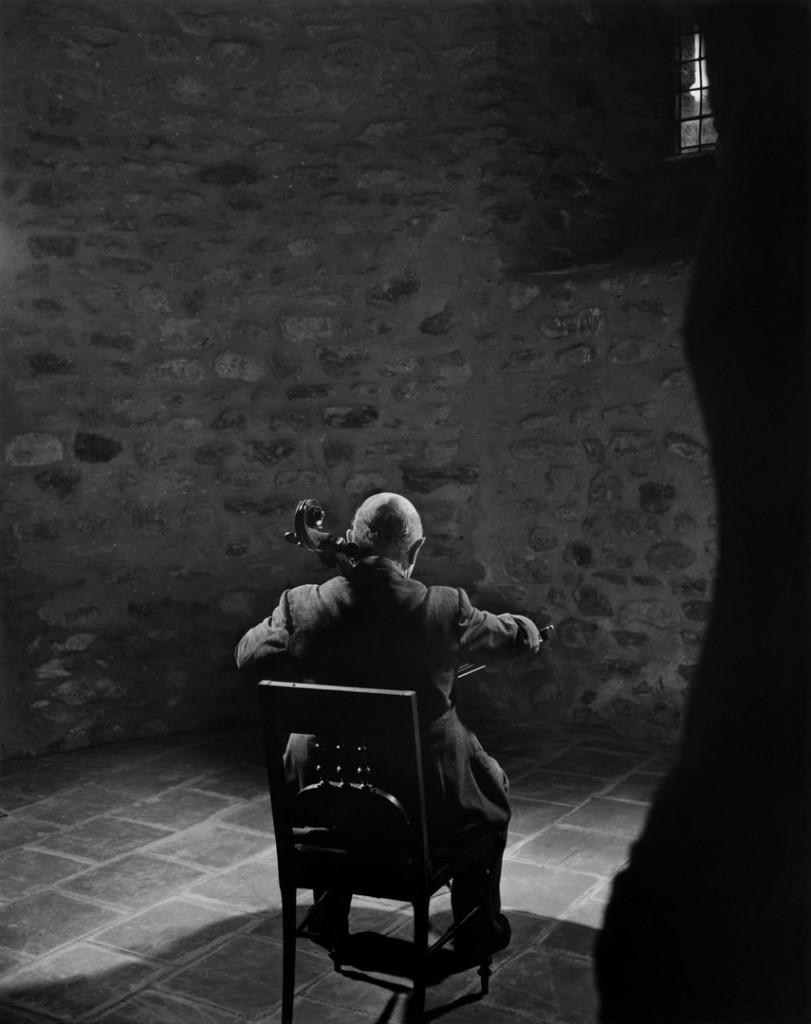 یوسف کارش. پابلو کاسالس (نوازنده چلو)، 1954