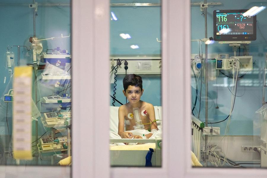 حامد ملکپور. از مجموعه «ایران: یک قلب، دو زندگی»، از آثار شایسته تقدیر مسابقه عکس سال یونیسف 2020