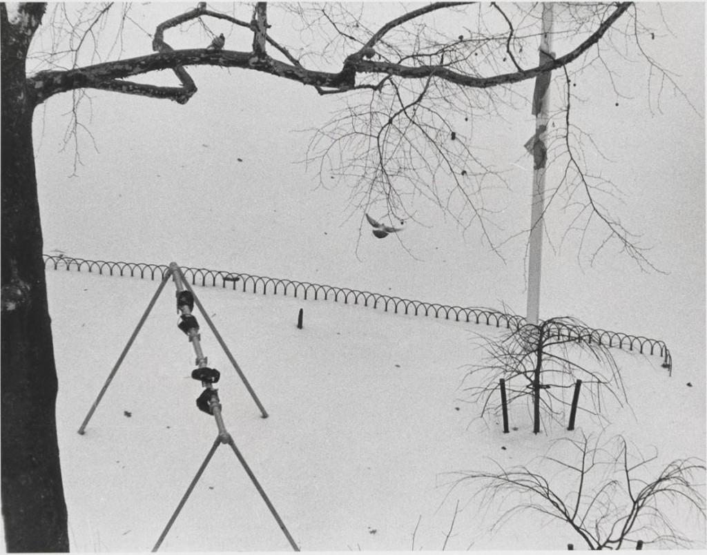 آندره کرتس. واشینگتن اسکوئر، 25 دسامبر 1969