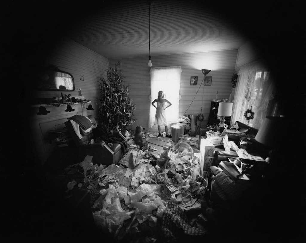 امت گاوین. ادیث، صبح کریسمس، دنْویل، ویرجینیا، 1971