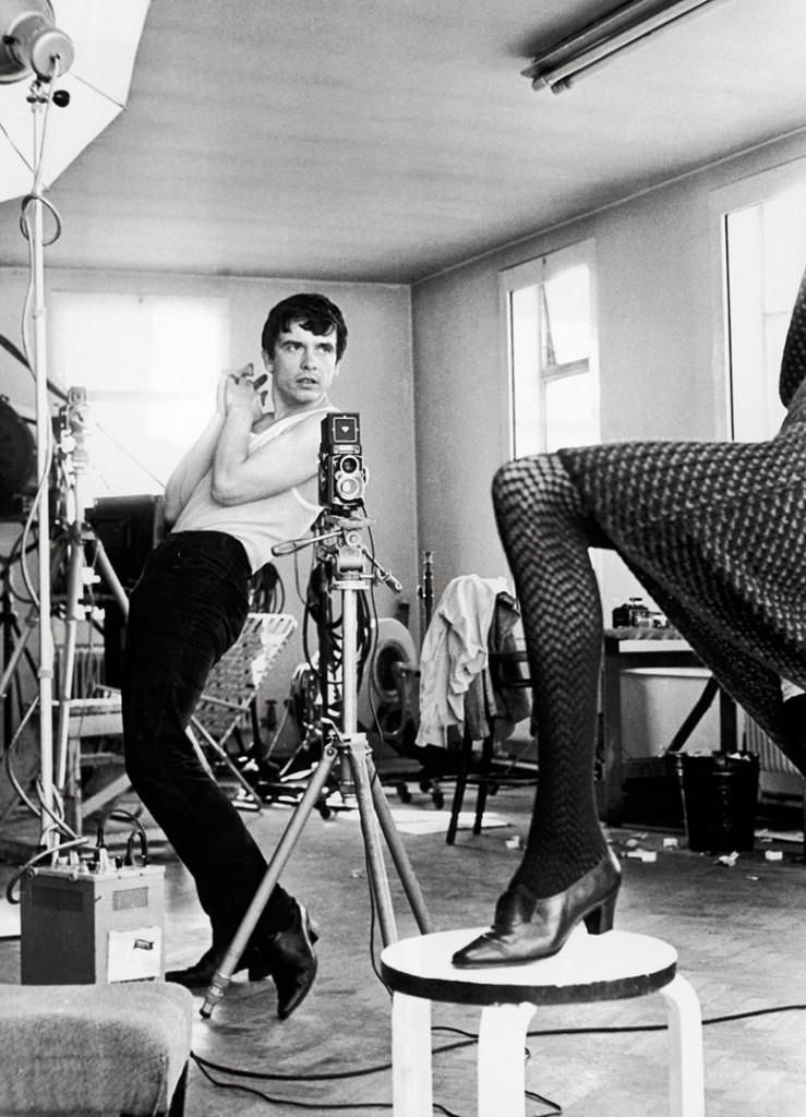 Terry O'Neill. دیوید بیلی و جین شریمپتن، 1964