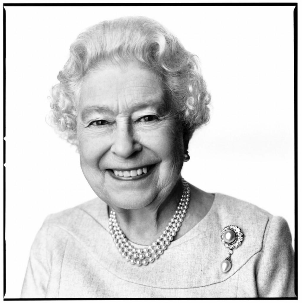 دیوید بیلی. ملکه الیزابت دوم، 2014