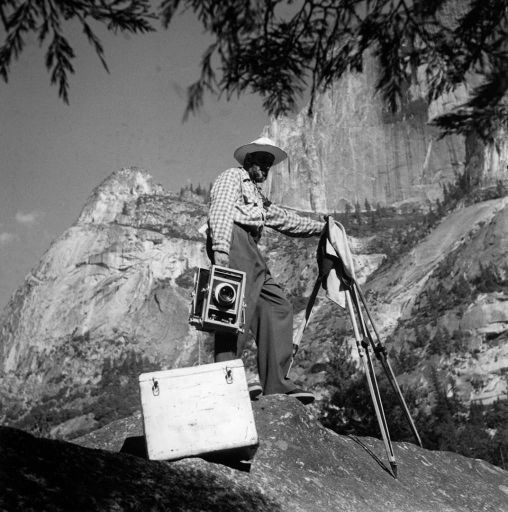 انسل آدامز، دره یوسمیتی، 1953
