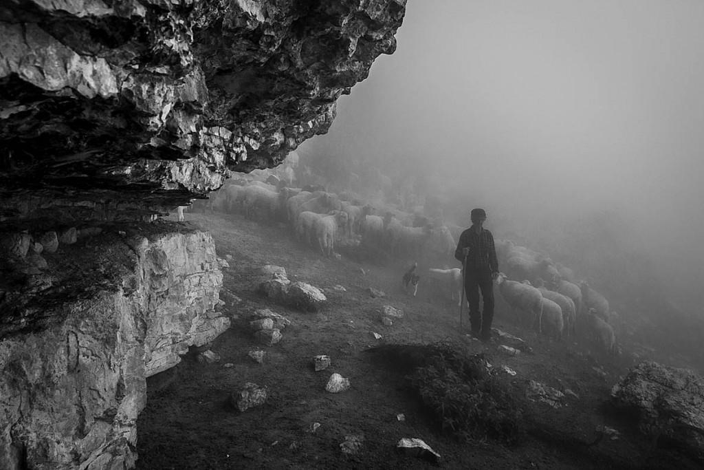 Mauro Cironi. از مجموعه «آخرین چوپان»، اثر تقدیرشده داوران مسابقه عکاسی The Mountain Photo Essay Competition 2020