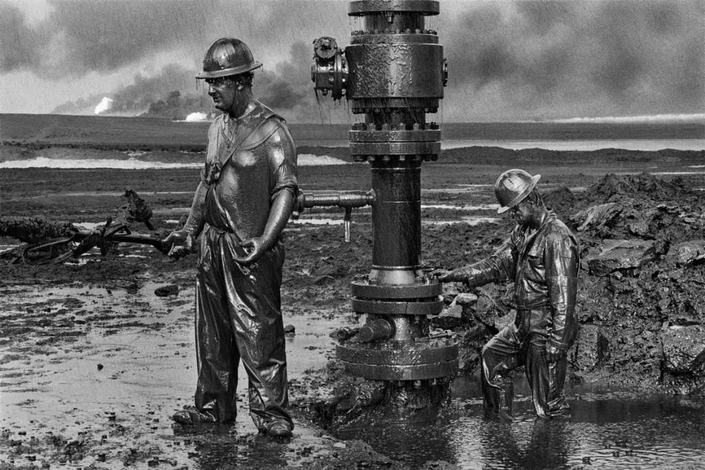 سباستیائو سالگادو. میدان نفتی، کویت، 1991