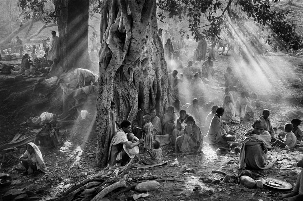 سباستیائو سالگادو. کمپ کالما، اتیوپی، 1985