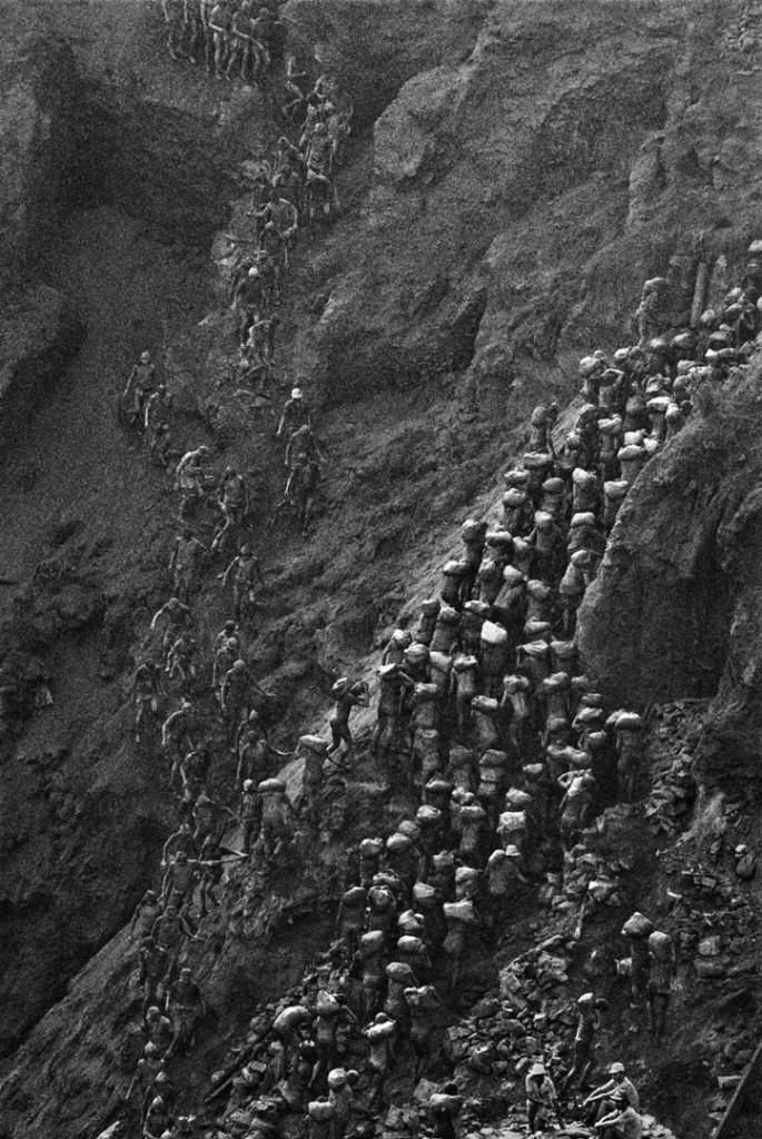 سباستیائو سالگادو. معدن طلای سرا پلادا، برزیل، 1986
